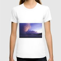 Before The Storm Womens Fitted Tee White SMALL