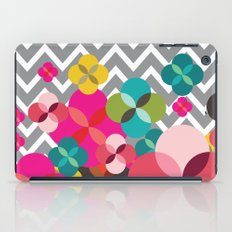 Chevron Blooms iPad Case
