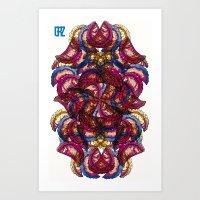 Empanadas Pattern #3 Art Print