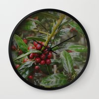 Holly-luia Wall Clock
