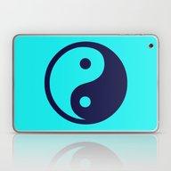 Yin Yang Wall Clocks Laptop & iPad Skin