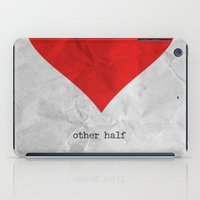 find you half (part 2 of 2) iPad Case