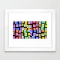 Modern Pattern Design Framed Art Print