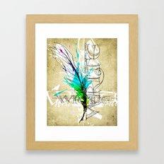Write Now Framed Art Print