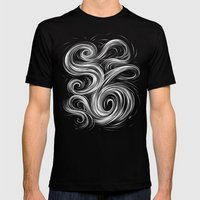 Smoke6 Mens Fitted Tee Black SMALL
