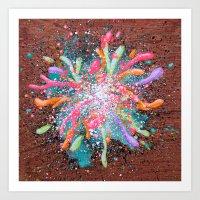 Collective Consciousness… Art Print