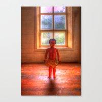 Doll Window Canvas Print
