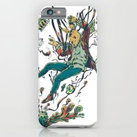 iPhone & iPod Case featuring Down the Rabbit Hole by Nicolae Negura