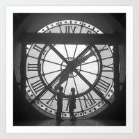 L'heure de L'Amour Art Print