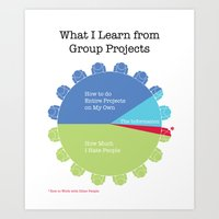 Group Projects Art Print