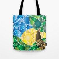 Mosaic Sunrise Tote Bag