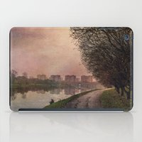 Fisherman (stylized watercolor) iPad Case