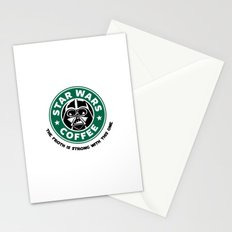 Star Wars Coffee Stationery Cards