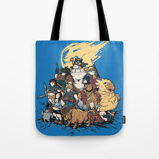 FF7 - FULL FAT 7 Tote Bag