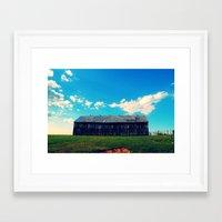 Farm Life Framed Art Print