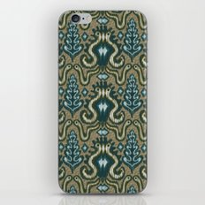 Slithering Snake Ikat iPhone & iPod Skin