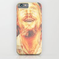 iPhone Cases featuring The Dude by Robotic Ewe