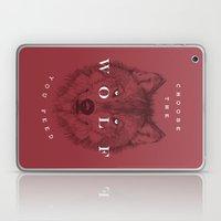 Choose The Wolf You Feed Laptop & iPad Skin