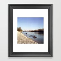 Ticino River Framed Art Print