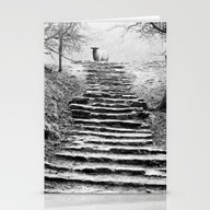 Stationery Cards featuring Dovedale Steps by CreativeByDesign