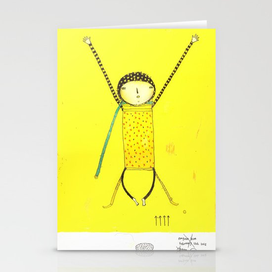 Move on Stationery Card