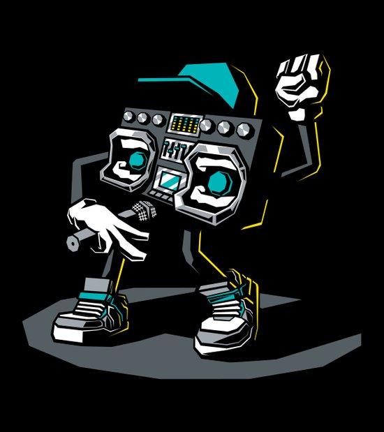 Beatbox Boombox2 Art Print