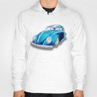 VW Beetle Blue Hoody