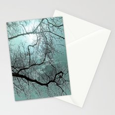 ABSTRACT-Blue Danube Stationery Cards
