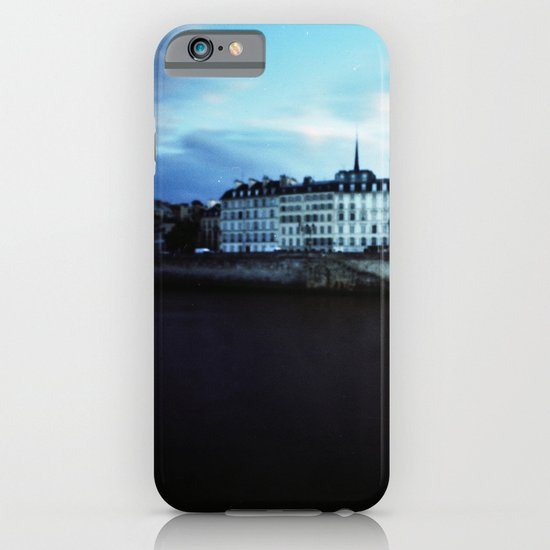 Paris at Dusk: Ile de la Cite iPhone & iPod Case
