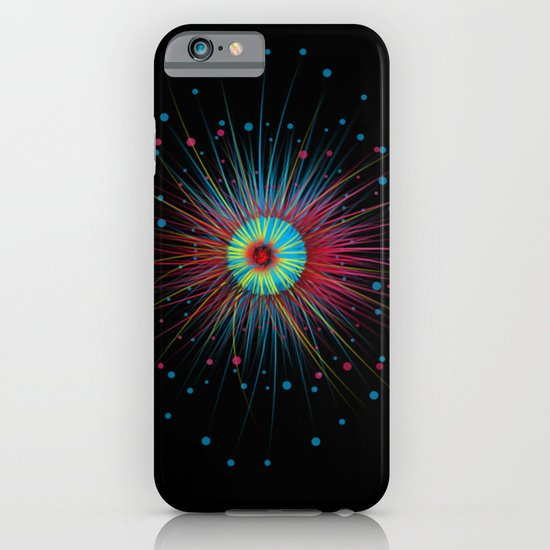 Neon Explosion iPhone & iPod Case