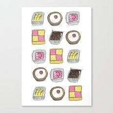 A TASTE OF CHILDHOOD: CAKES Canvas Print