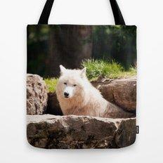Canis Lupus Arctos Tote Bag