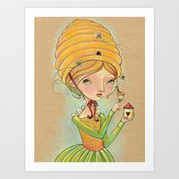 The Only Bee In My Bonne… Art Print