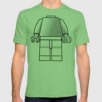 Make Yourself Mens Fitted Tee Grass SMALL