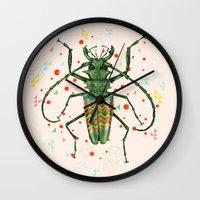 Insect V Wall Clock