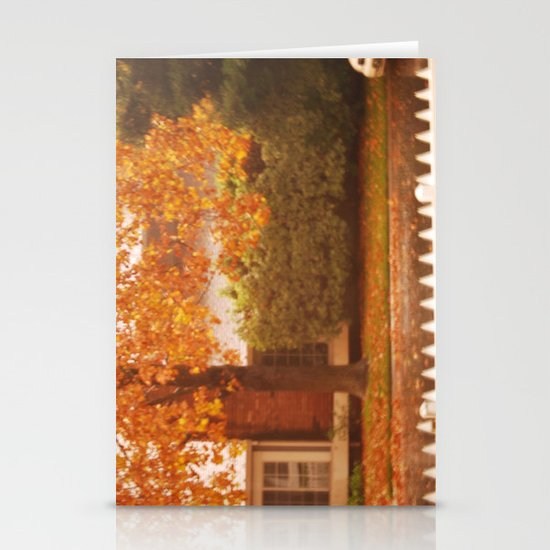 fall Stationery Card