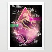 Epic Blueprint Art Print