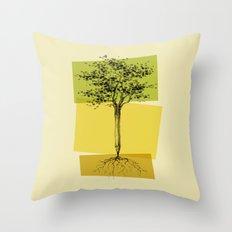 Ideas Don't Grow On Trees Throw Pillow