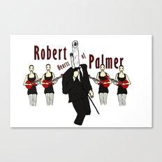 Robert Hearts of Palmer Canvas Print