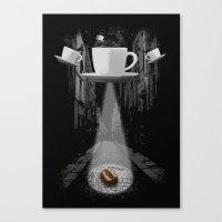 Mr. Coffee Bean Canvas Print