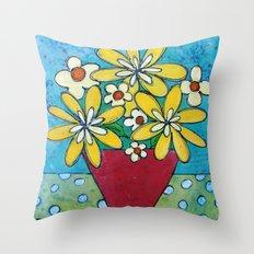 Good Day Sunshine Throw Pillow