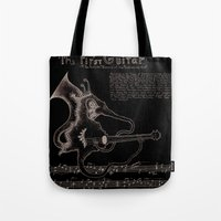 Hippocampus Hendricksium  Tote Bag