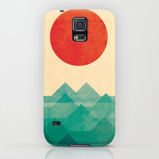 The ocean, the sea, the wave iPhone & iPod Case