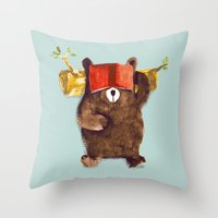 No Care Bear - My Sleepy… Throw Pillow