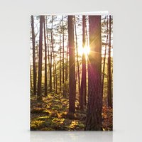 Evening In The Forest Stationery Cards