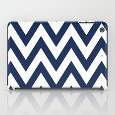 Navy Chevron iPad Case