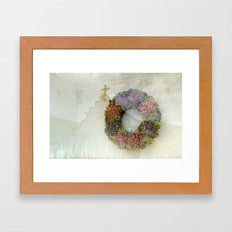 ARUBA RESTING PLACE Framed Art Print