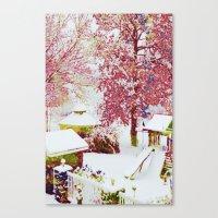 SNOW DAY - 015 Canvas Print