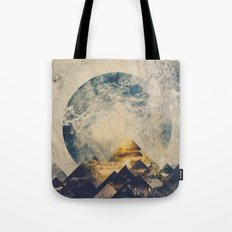 One mountain at a time Tote Bag