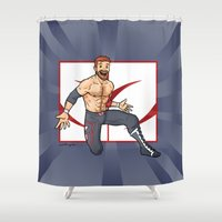 Sami Zayn Shower Curtain